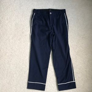 JCrew Wool Pinstripe Pajama Pant